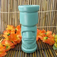 Mr Moai Tiki Mug Designed by Joe Vitale Tiki Farm Retired Teal 2003