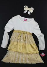 What a Doll Special Occasion Party Girl Dress & Hair Bow Accessory 2 Pieces 6/6X
