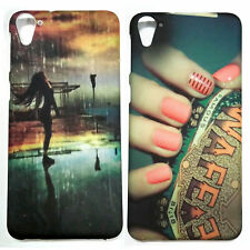 COMBO OF-2 PRINTED CASES, Girly print back cover case for HTC Desire 826 , D826