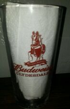 somewhere Sports Bar and Grill Winter Haven Orlando Florida Budweiser pint glass