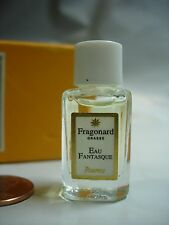 WOMENS FRAGONARD EAU FANTASQUE PERFUME PARFUM 2 ML VANITY BOTTLE FREESIA AMBER