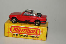 MATCHBOX #MB39 BMW 323L CABRIOLET, RED, NEW IN BOX