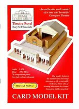 Georgianisches Papiertheater 1:120 Theatre Royal Bury St. Edmunds Bastelbogen
