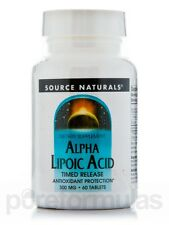 Alpha-Lipoic Acid 300 mg T/R - 60 Tablets by Source Naturals