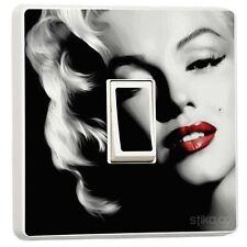 Marilyn Monroe Interruptor Pegatina Vinilo / Cubierta de piel sw27