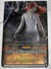 City of Heavenly Fire SIGNED Mortal Instruments #6 AUTOGRAPHED Cassandra Clare