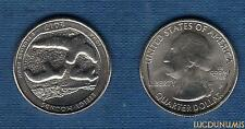 Etats Unis - Quarter Dollar - 2017 Iowa P Effigy Mounds série Parc Nationaux