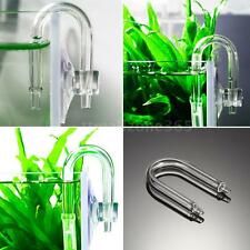 High Quality Glass Aquarium U Shaped Tube fr CO2 Diffuser DIY CO2 Generator S9F9