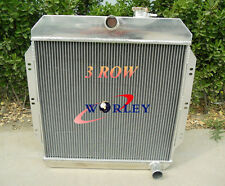 3 ROW ALUMINUM RADIATOR Chevy / GM Pickup Truck Manual 1960 1961 1962 60 61 62
