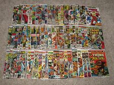 MARVEL TWO-IN-ONE 1-100 NEAR FULL RUN + ANNUAL 2