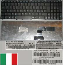 Clavier Qwerty Italien ASUS G60 P-09Q3610-528 SG-32900-2IA 9J.N2J82.A0E Noir