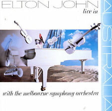 Live in Australia by Elton John (CD, Jun-1987, MCA)