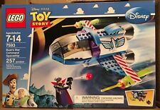 Lego 7593 Buzz's Star Command Spaceship Retired New And Factory Sealed