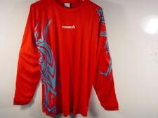 Reusch Soccer Goalie Keeper Bakura Longsleeve Padded Jersey Medium 3211103S RED