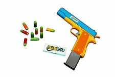 Colt Toy Gun Mauser M1911 Pistol Nerf Replica 10 Colorful Soft Bullets CSGO Game