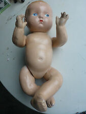 Vintage 10 inch Composition Baby Doll