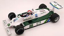 FIGURINE 1/18   CLAY  REGAZZONI   POUR  WILLIAMS  F1  SPARK   VROOM   A  PEINDRE