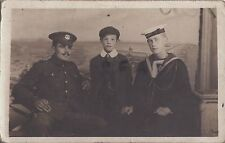 WW1 Soldier Sailor Family group Norfolk Regiment Royal Navy