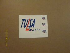 CHL Tulsa Oilers Vintage Sheet Lot of 4 Hockey Stickers