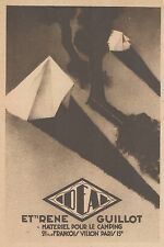 Z9250 IDEAL materiel pour le Camping -  Pubblicità d'epoca - 1932 Old advert