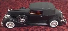 Anso 1934 Packard Black Diecast 1:27 Scale Made In China, Excellent Condition