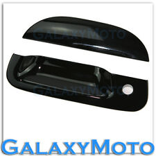 97-03 Ford F150+04 F150 Heritage Gloss Shiny Black ABS Tailgate Handle Cover