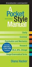 A Pocket Style Manual (for Grammar, punctuation and MLA by Diana Hacker) - 2010