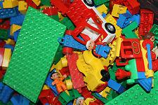 LEGO DUPLO 1 KG GEMISCHTE STEINE AUTOS TIERE ****