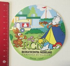 Aufkleber/Sticker: RCN Recreatiecentra Nederland Campings-Bungalows (06061655)
