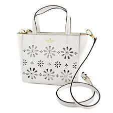 Kate Spade Bag PXRU6554 Faye Drive Small Hallie Satchel Bright White Agsbeagle
