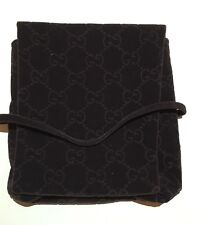 Gucci GG Logo Pattern Velour/Velvet Jewelry Pouch