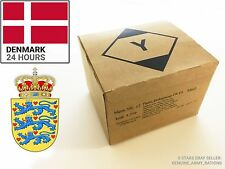 DENMARK Military Ration Box. Military Ration - 24hours - (MRE)