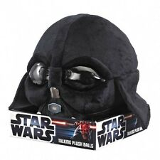 STAR WARS DARTH VADER TALKING PLUSH BALL BNIB GREAT GIFT KICK IT THROW IT