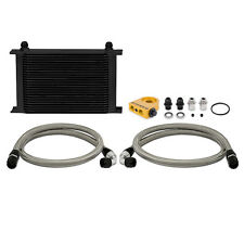 Mishimoto Thermostatic Universal 25 Row Oil Cooler Kit - Black