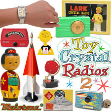 Space Age Toy Crystal Radios Volume TWO full color collector book