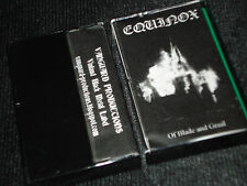 EQUINOX Of Blade And Graal CASSETTE raw black metal white medal furze ildjarn