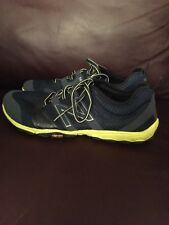 New Balance Vibram Men's Running Shoes Size 9 Yellow And Navy Blue