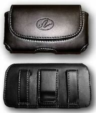 Leather Case Cover Pouch Holster w Belt Clip / Loop  for Nokia X2-01