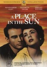 A Place In The Sun (DVD, 2007)  Elizabeth Taylor and Montgomery Clift . Region 4