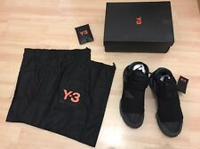 Adidas Y-3 Y3 QASA HIGH Schwarz Black BB4735 Gr. 42 UK8 US8,5 NEU NEW