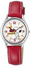 CITIZEN Q & Q watch PEANUTS Snoopy analog display Red AA95-9852 Ladies