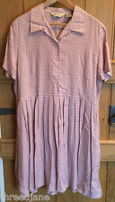 Eddie Bauer carreaux roses dress-us xl/uk 18-neuf sans étiquette
