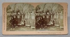 Li Hung Chang Hongzhang at Tsar Nicholas II Coronation 1897 Kilburn Stereoview