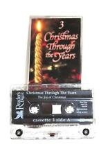 RD Christmas Through The Years Cassette #3 Domingo Secombe Whittaker 18 Tracks