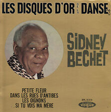 45TRS VINYL 7''/ FRENCH EP VOGUE / SIDNEY BECHET / SERIE LES DISQUES D'OR