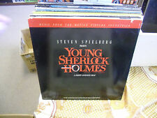 Soundtrack Young Sherlock Holmes LP 1985 MCA Records EX [Bruce Broughton]