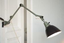 Gelenklampe Midgard Bauhaus Curt Fischer Wandlampe Emailleschirm Jointed Lamp