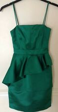 "Bnwt""Whistles""Size 16 Bea Green Shift Dress Evening Cocktail Cruise New £195"