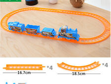 Thomas Electric Trains 4 Cars Kids Train Track Pack Set Railway Track Slot Toys