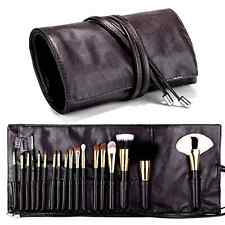 Travelmall Makeup brush rolling case pouch holder Cosmetic bag organizer Travel
